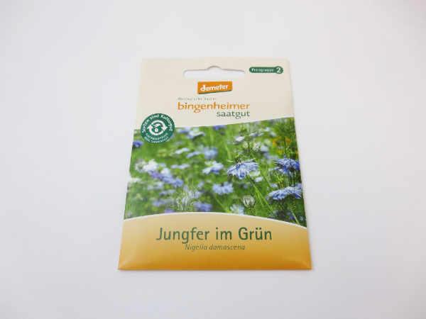 Saatgut Jungfer in Grün