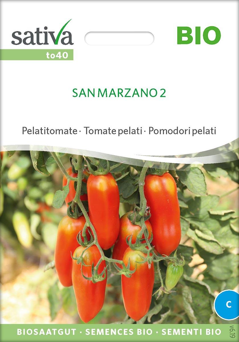 Saatgut Tomate San Marzano 2 -S-