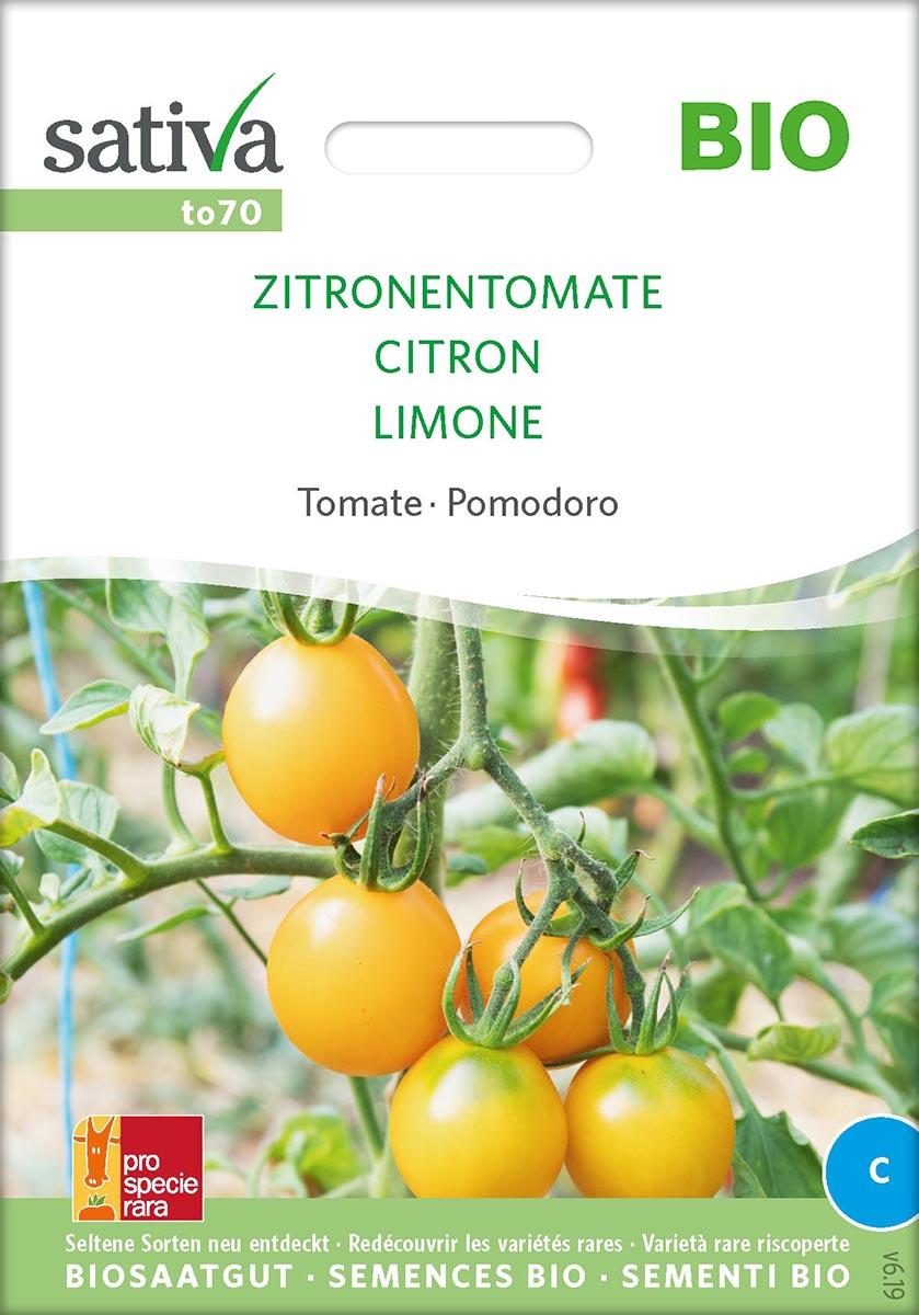 Saatgut Tomate Zitronentomate