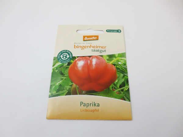 Saatgut Paprika Liebesapfel
