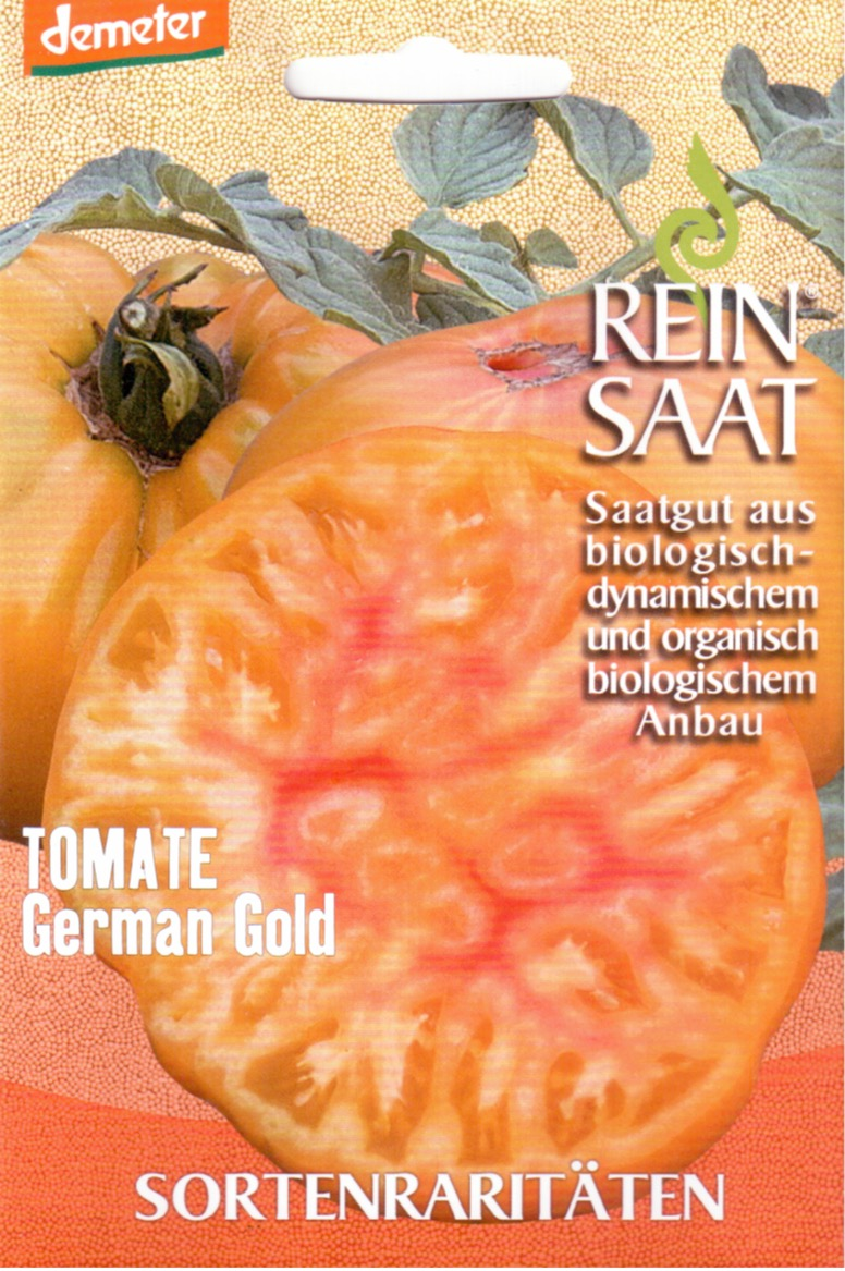 Tomatensaatgut German Gold -R-
