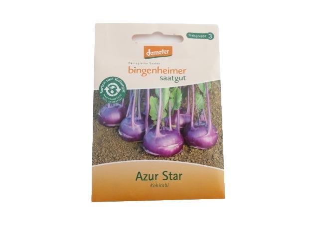 Saatgut Kohlrabi Azur Star -B-