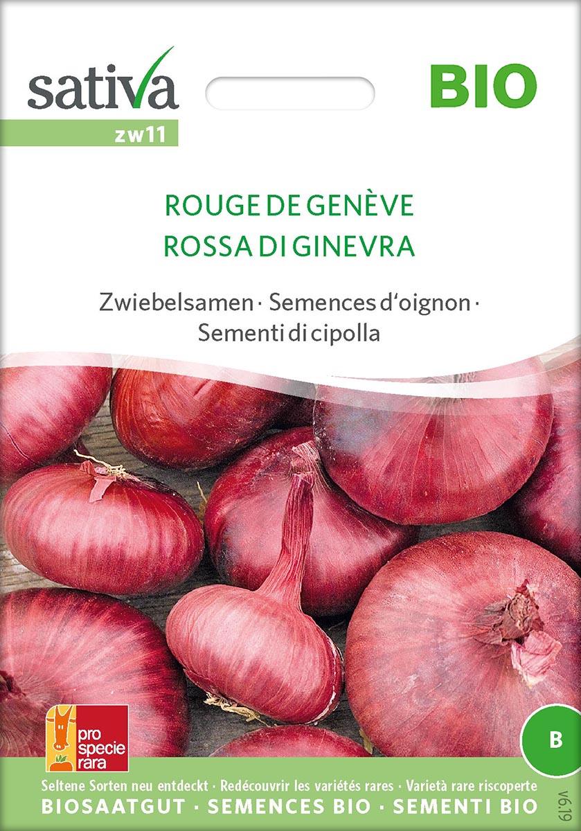 Saatgut Zwiebel Rouge de Genève -S-