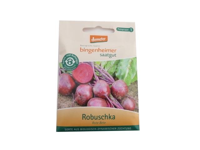 Saatgut Rote Bete Robuschka -B-
