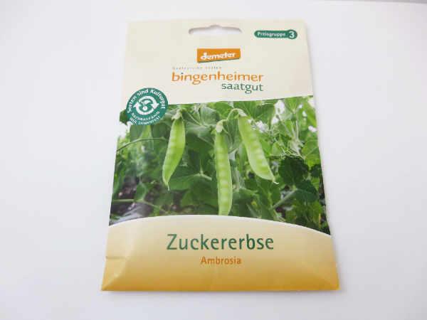 Saatgut Zuckererbse Ambrosia -B-