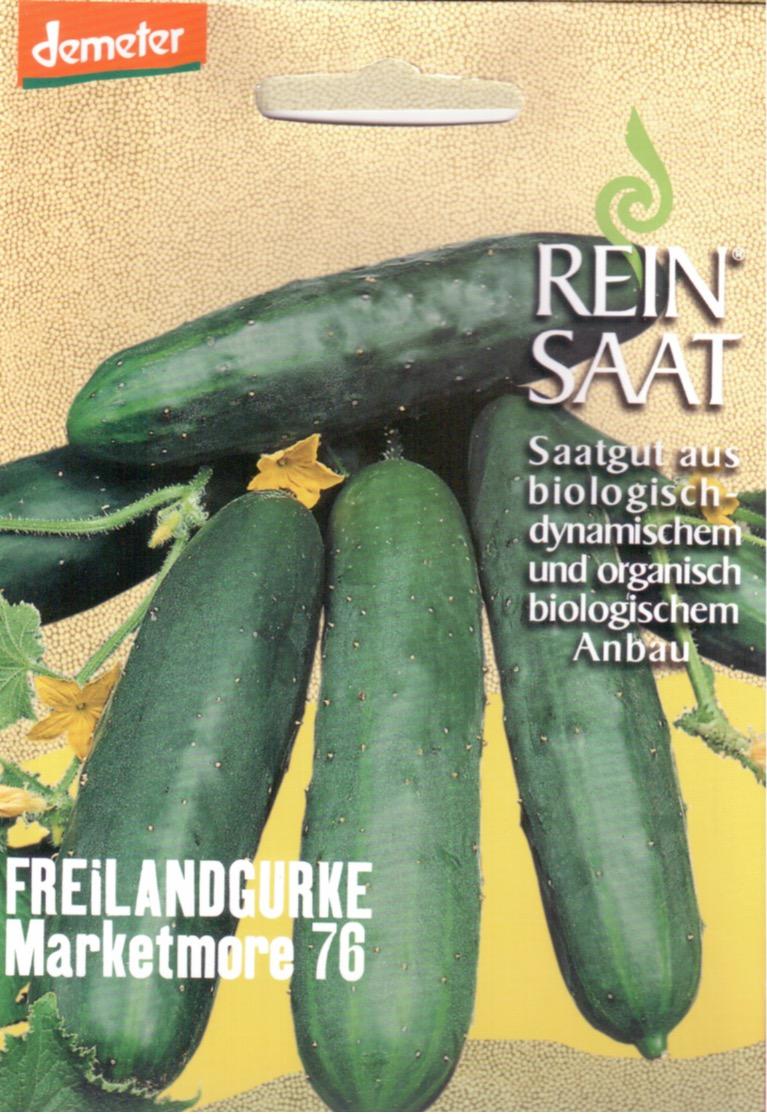 Saatgut Freilandgurke Marketmore -R-