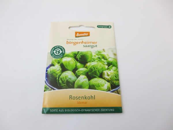 Saatgut Rosenkohl Idemar -B-