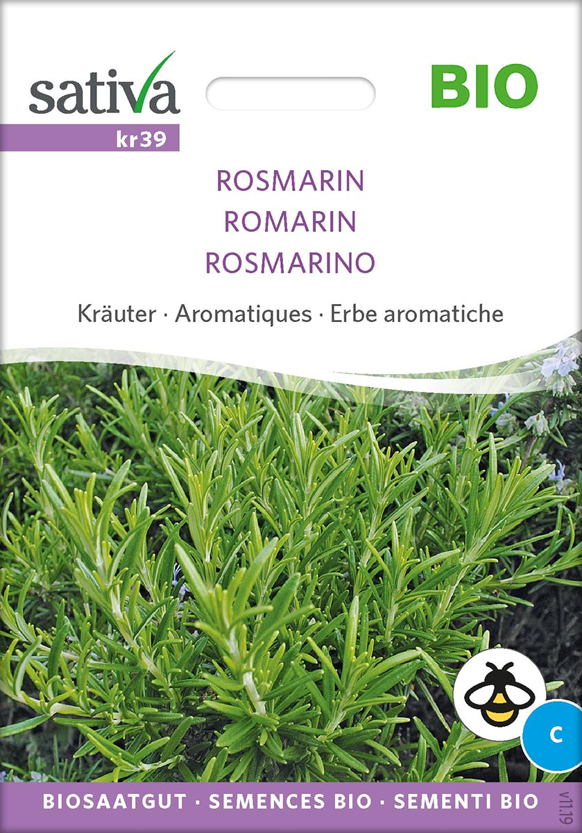 Saatgut Rosmarin