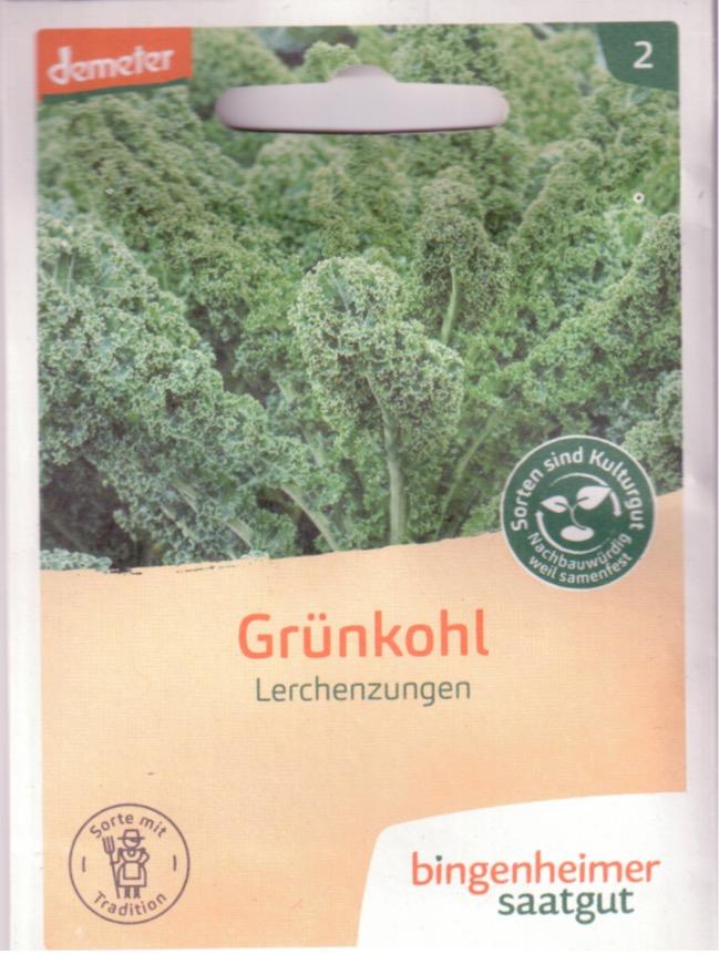 Saatgut Grünkohl Lerchenzungen -B-