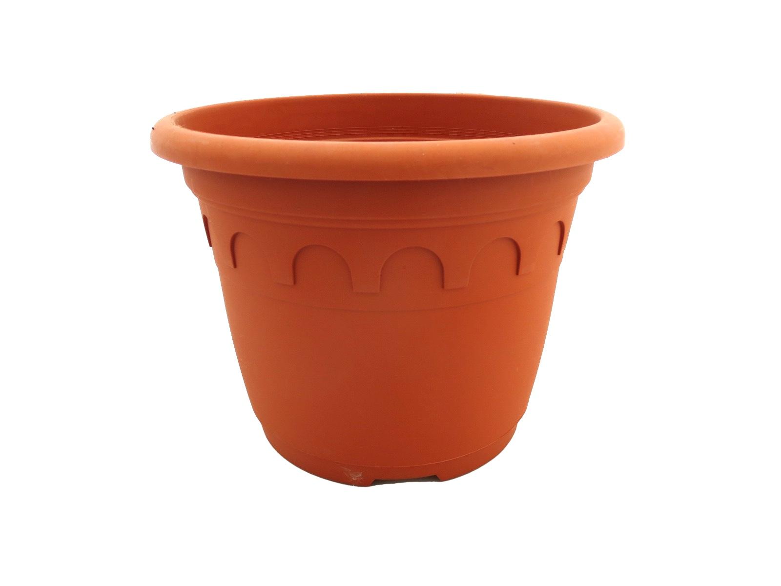 Romatopf Kunststoff Terrakotta-Optik 4,6 Liter