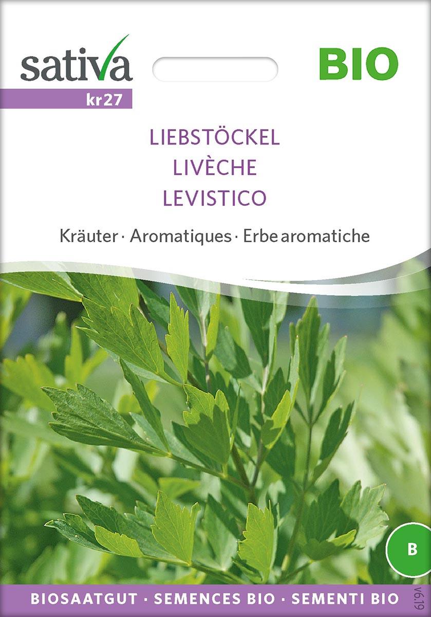 Saatgut Liebstöckel -S-