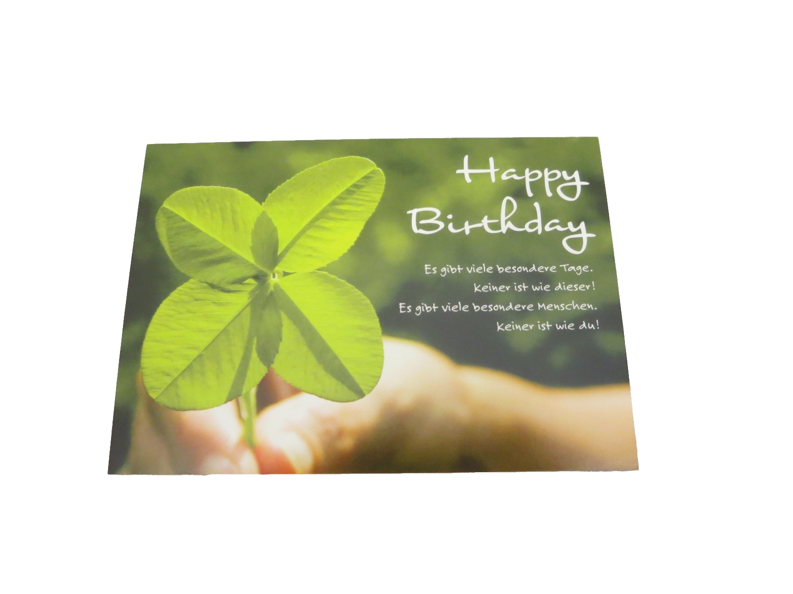 Postkarte Happy Birthday