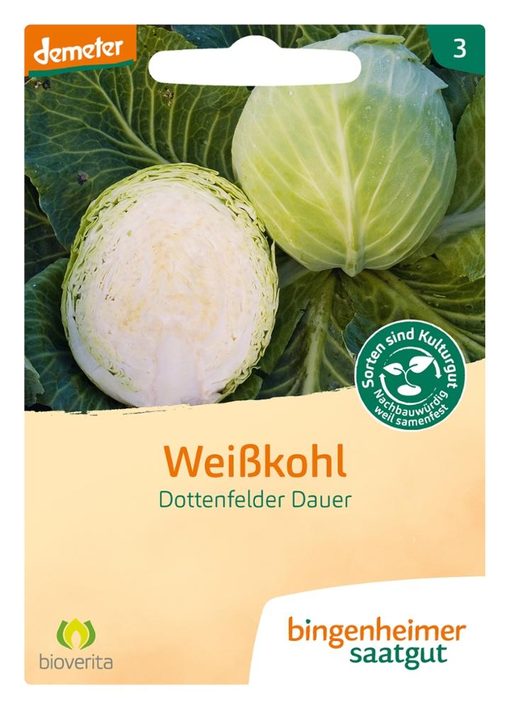 Saatgut Weisskohl Dottenfelder Dauer -B-