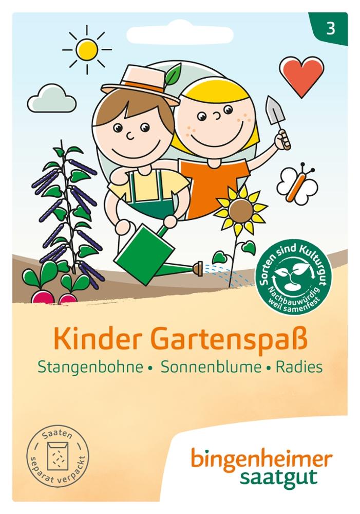 Saatgut Kinder Gartenspass -B-