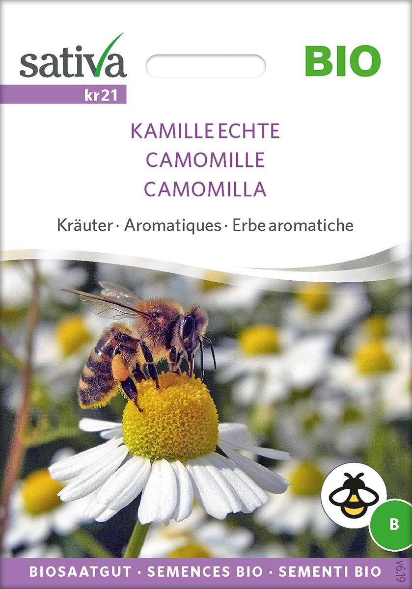 Saatgut Echte Kamille -S-