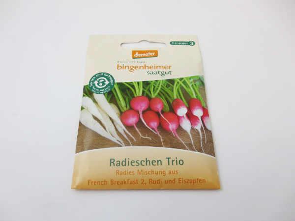 Saatgut Radieschen Trio
