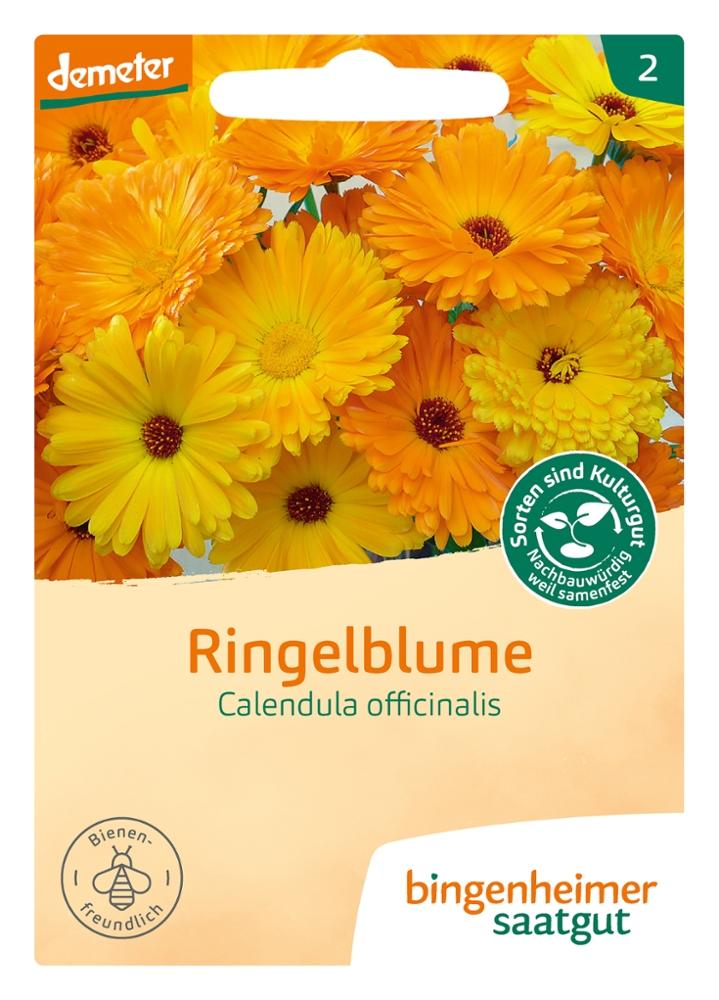 Saatgut Calendula Ringelblume -B-