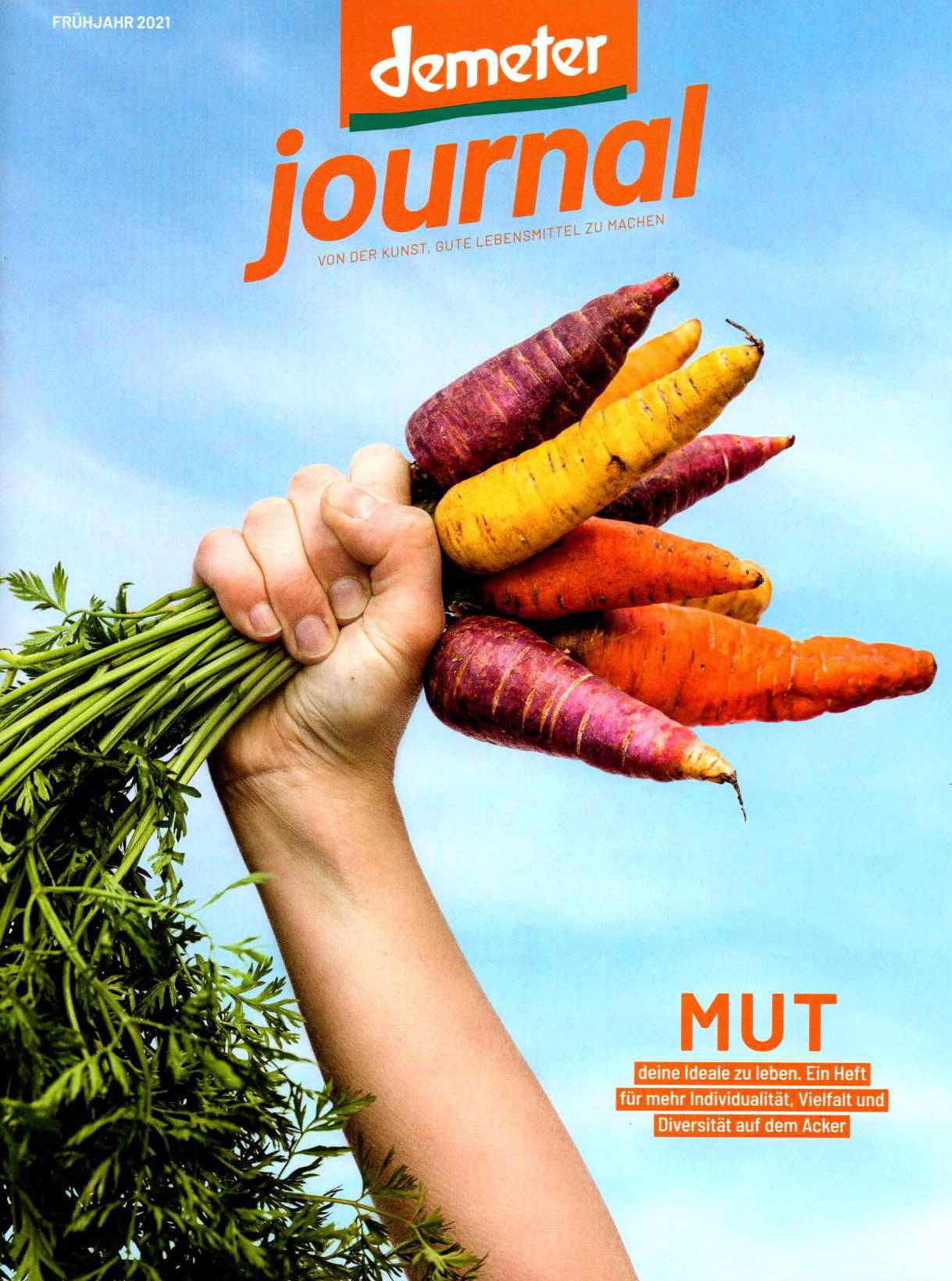 Demeter Journal Frühjahr 2021