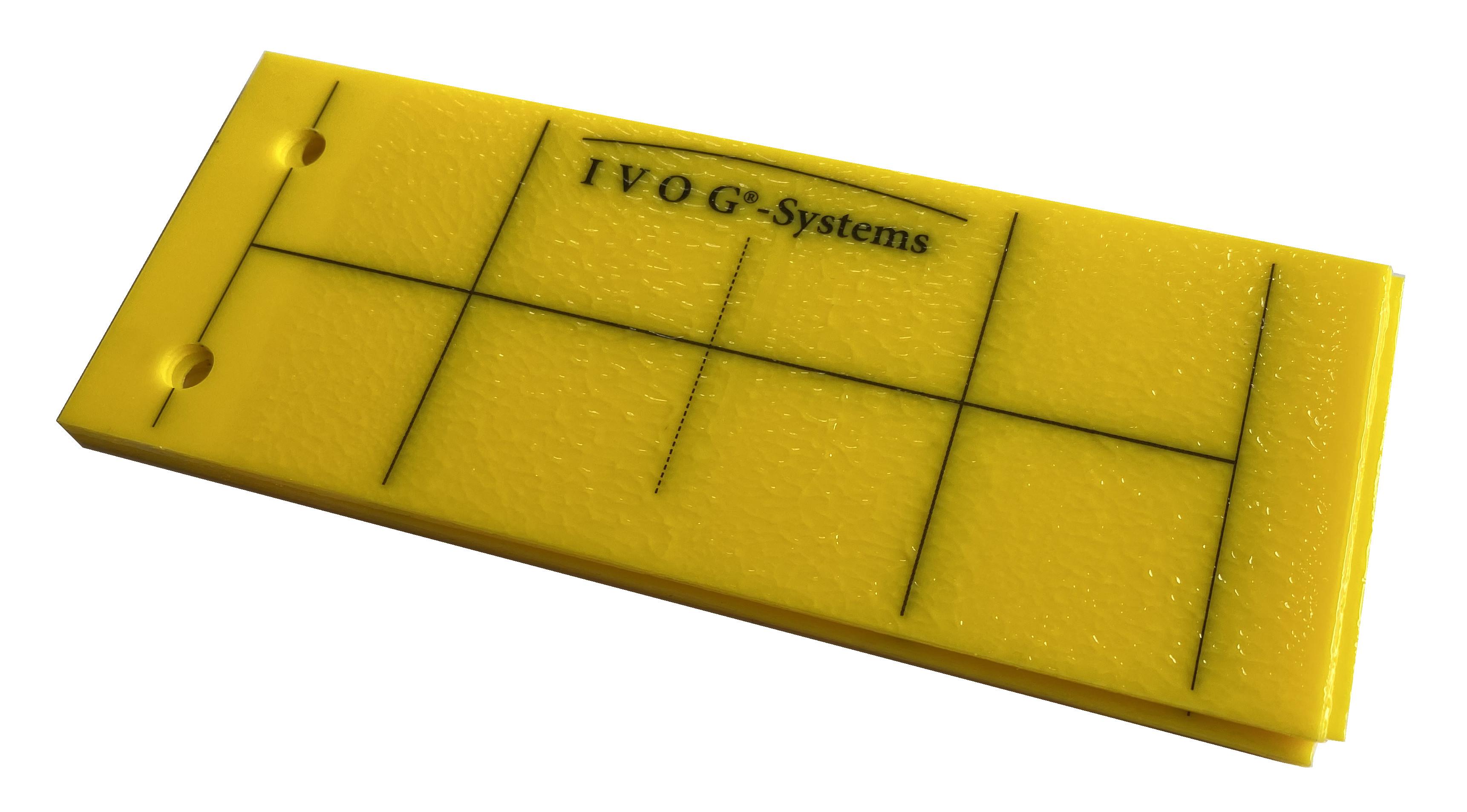 10 x Gelbtafel klein