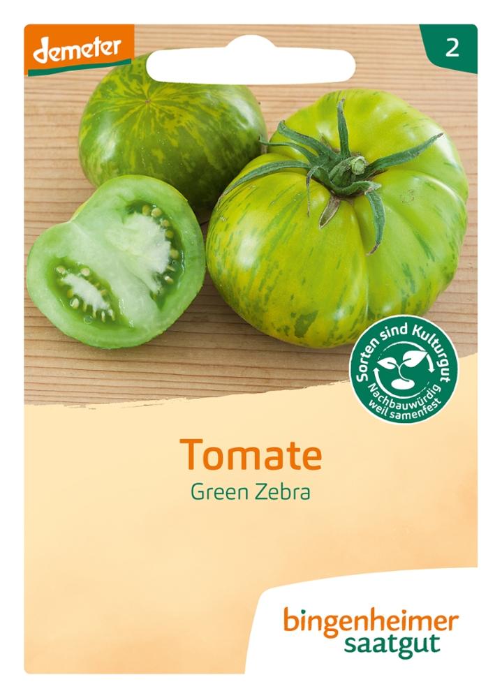 Tomatensaatgut Green Zebra -B-