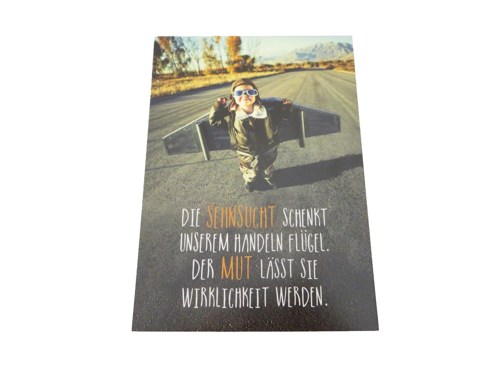 Postkarte Sehnsucht