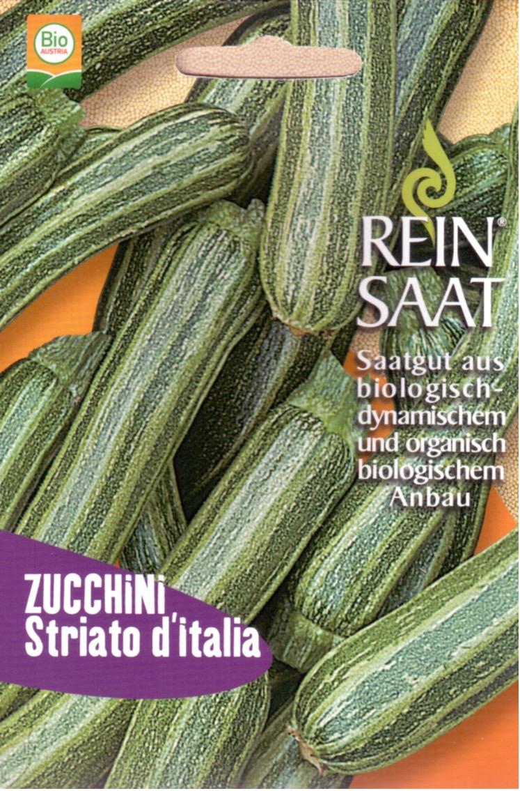Saatgut Zucchini gestreift Striato d'Italia -R-
