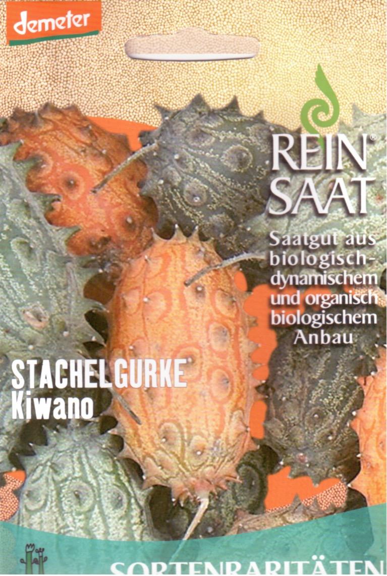 Saatgut Stachelgurke Kiwano -R-