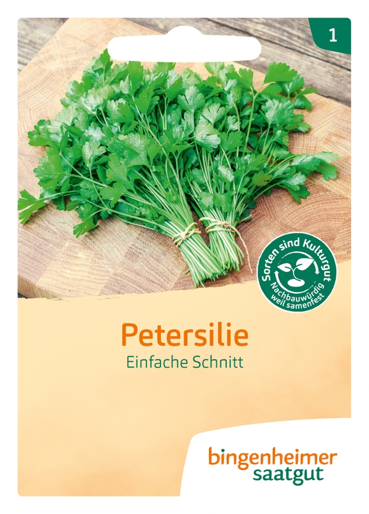 Saatgut Petersilie Einfache Schnitt -B-