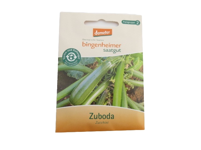 Saatgut Zucchini Zuboda -B-