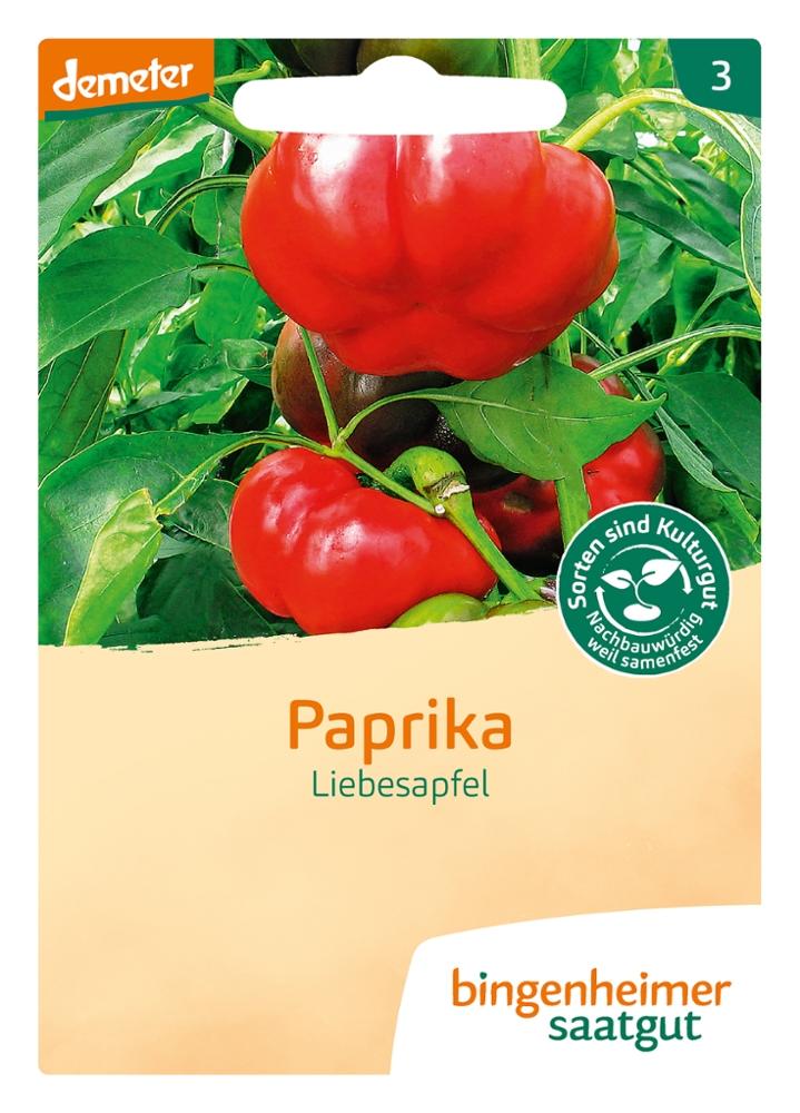 Saatgut Paprika Liebesapfel -B-