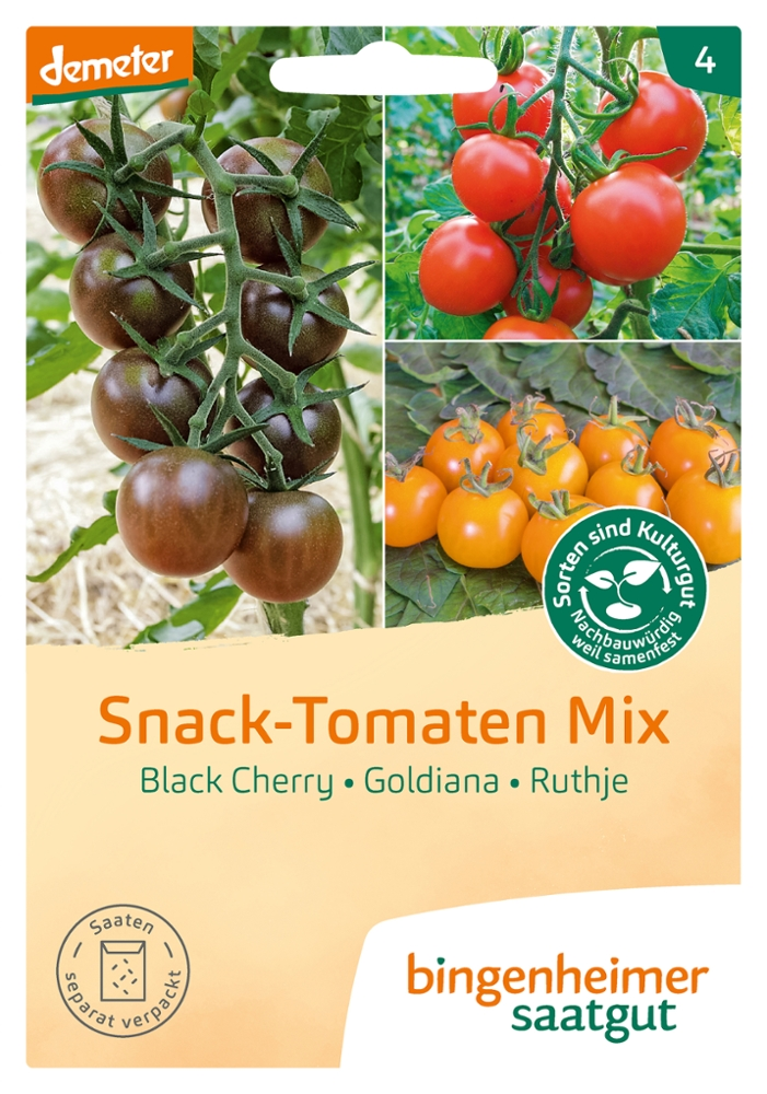 Saatgut Snack Tomaten Mix -B-