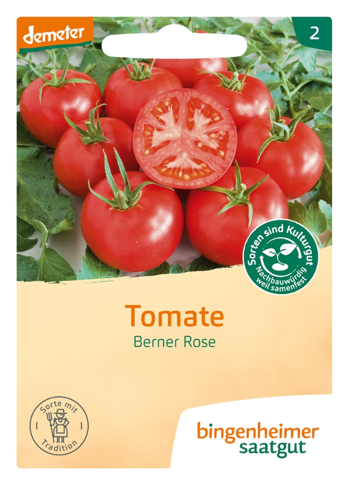 Tomatensaatgut Berner Rose -B-