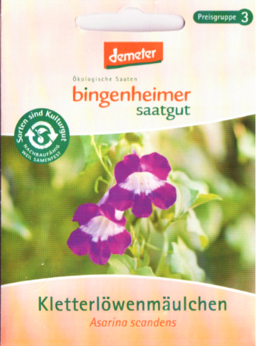 Saatgut Kletterlöwenmäulchen -B-