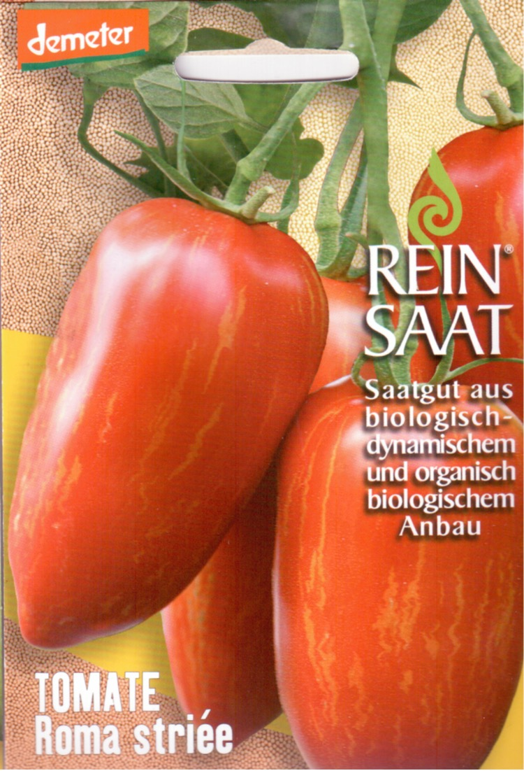 Tomatensaatgut Roma Striée -R-