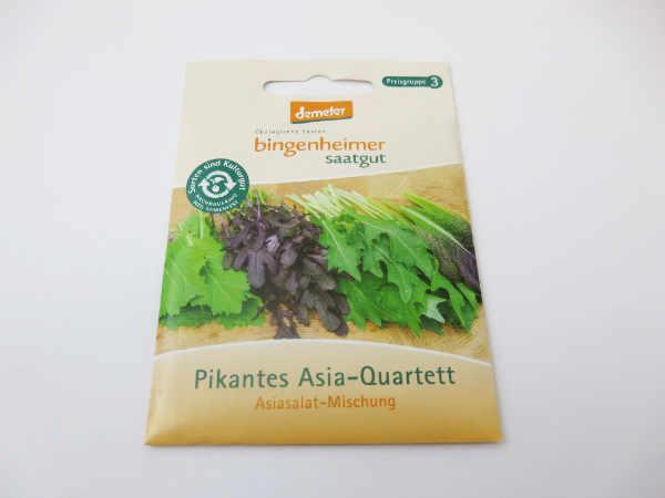 Saatgut Asiasalat Mischung Pikantes Quartett