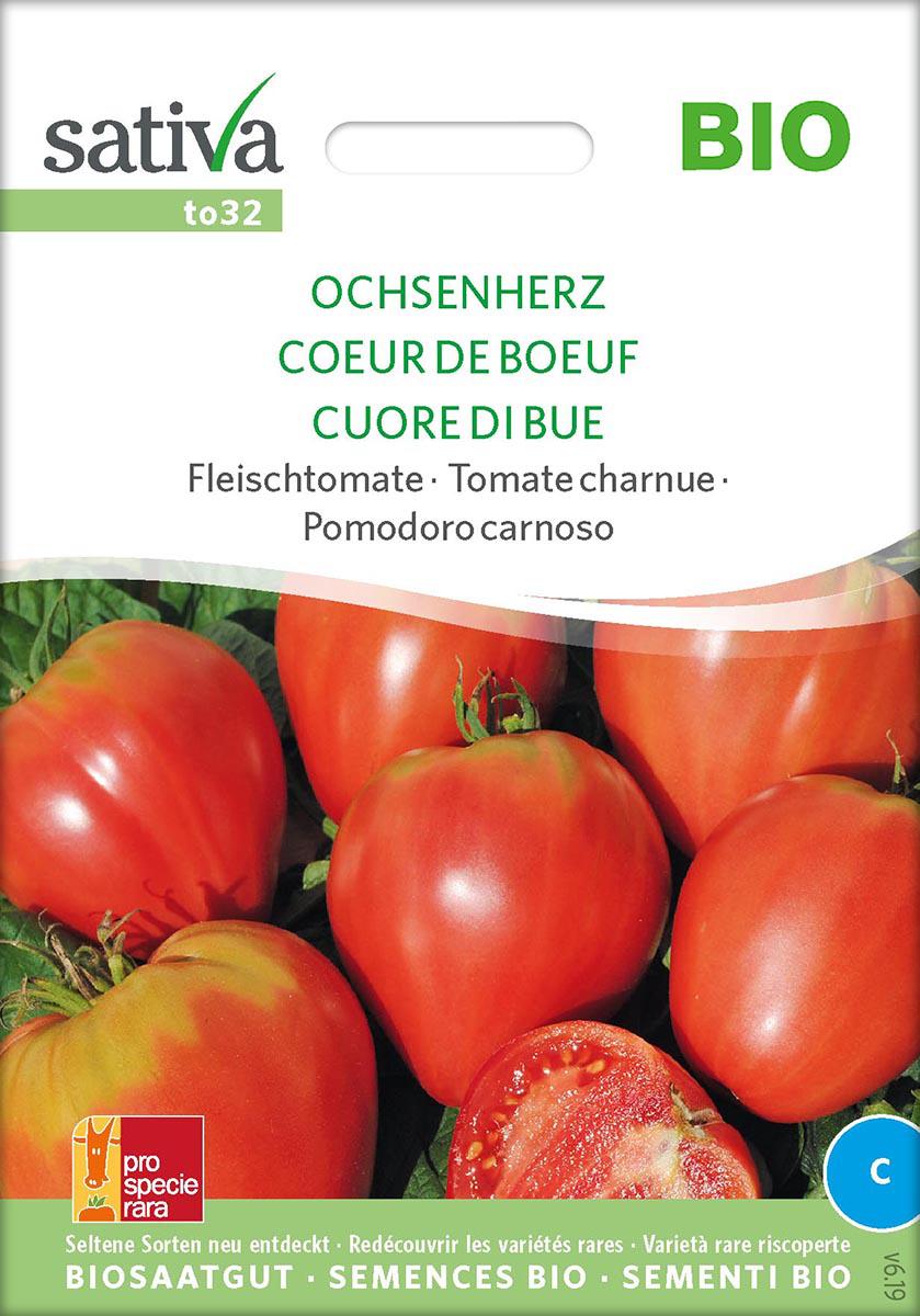Saatgut Tomate Ochsenherz -S-
